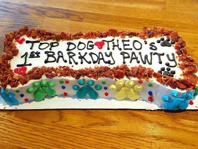 Barkday Pawty Cake