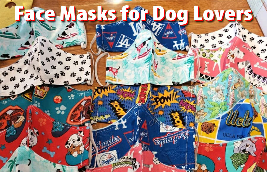 We have face masks for dog lovers