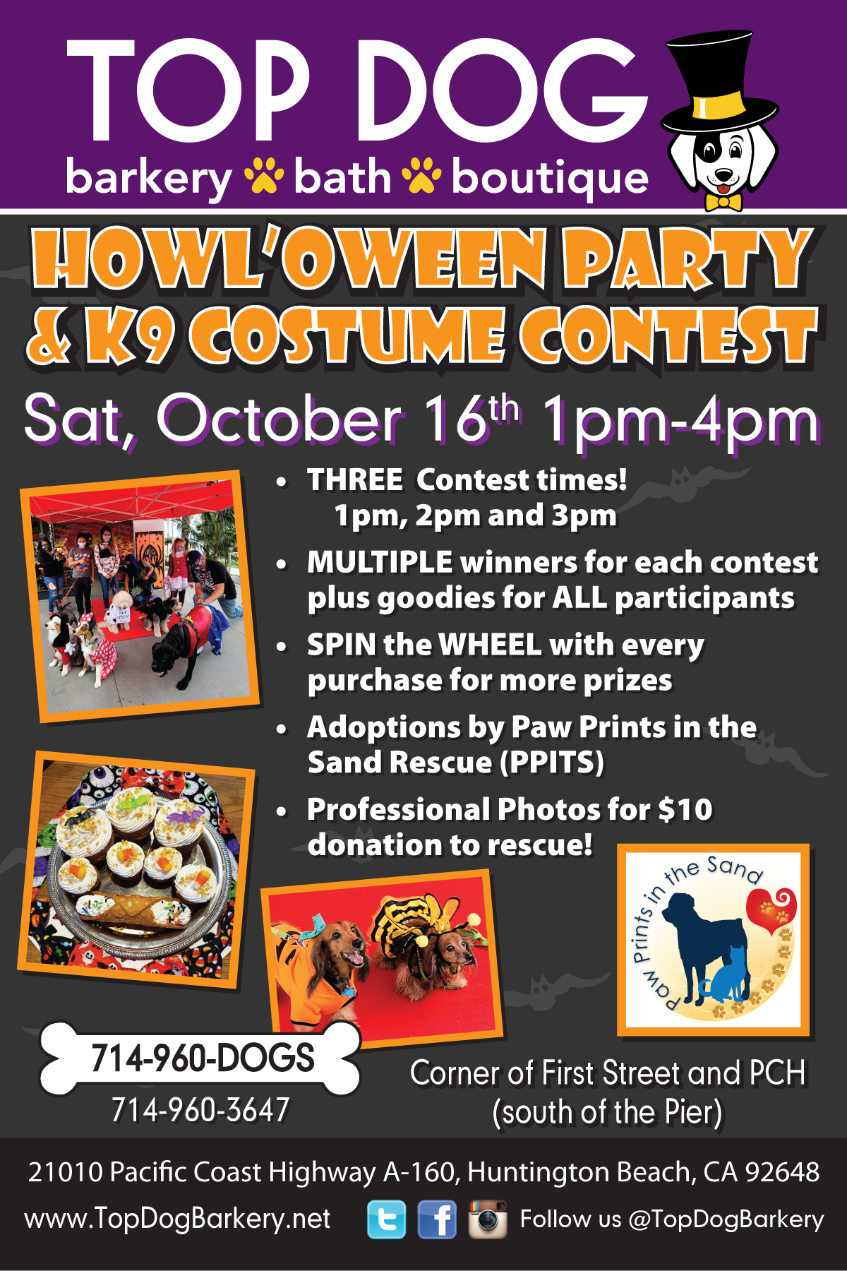 Howl'oween Party & K9 Costume Contest
